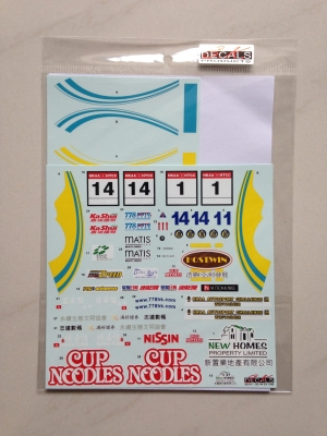 SK24016 Honda Integra Type-R HTCC 2015 Team 778 Decal Set